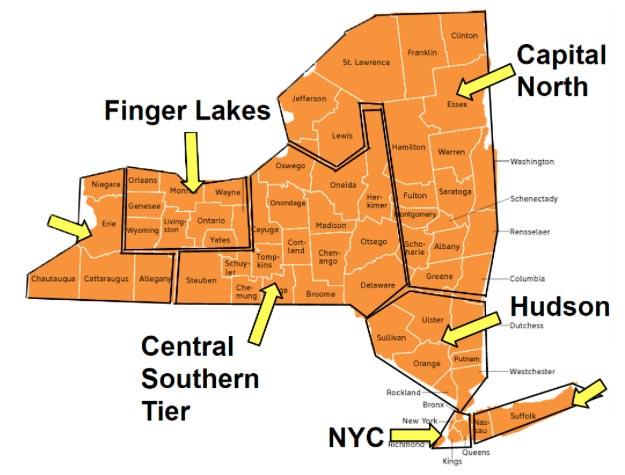 RAEN map